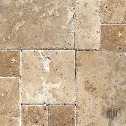 Tuscany Chateaux Travertine Tile Tuscan Decorating Versailles Pattern Patio Flooring