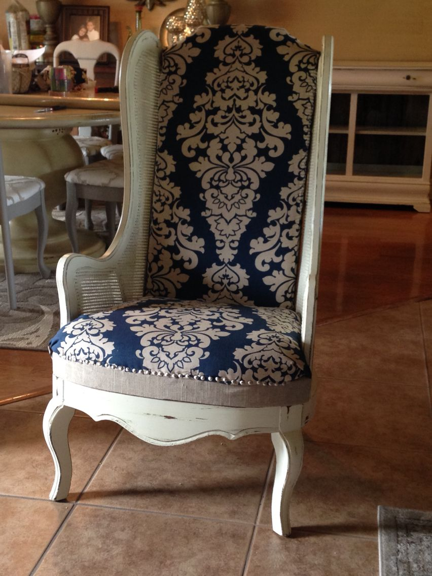 cost to reupholster chair diy