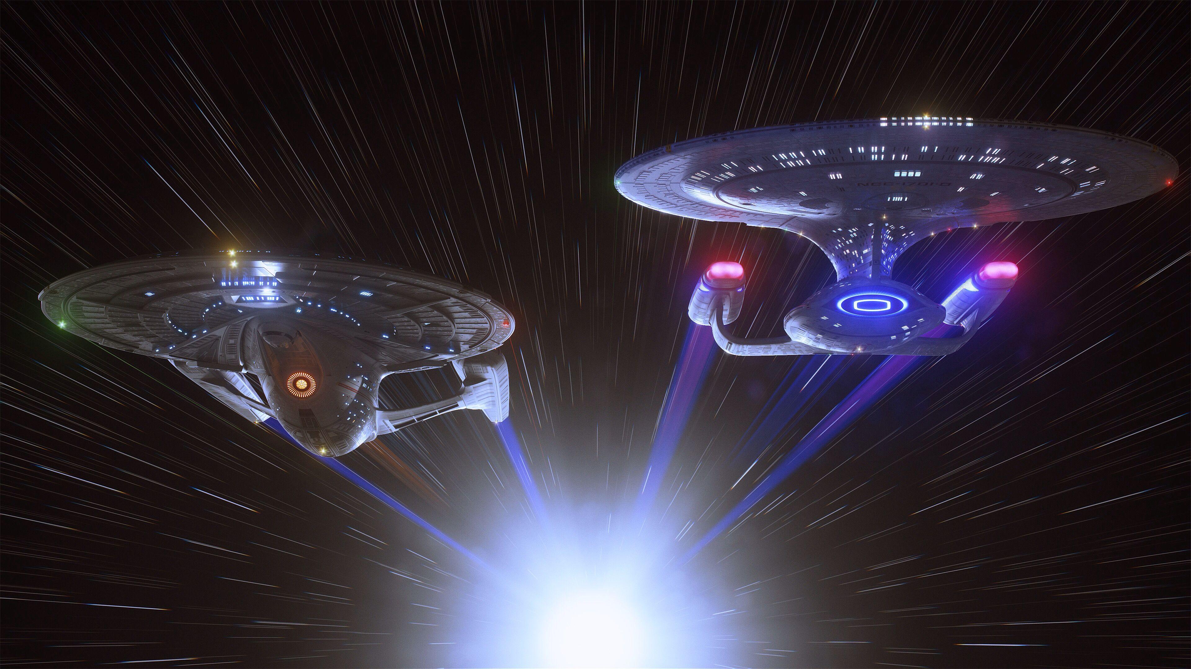 Sovereign Galaxy Star Trek Wallpaper Star Trek Ships Star Trek Art