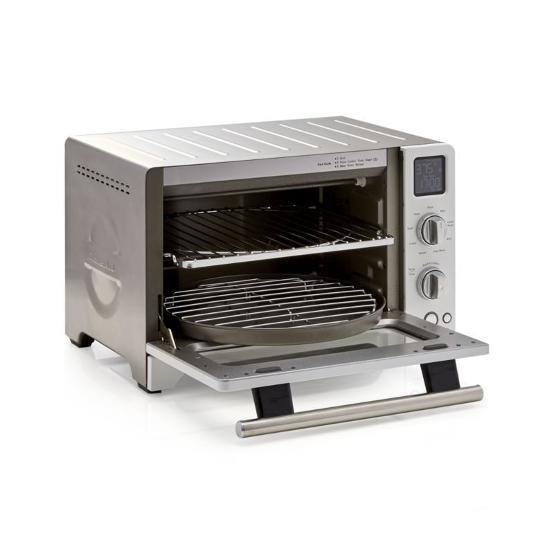 Best Kitchenaid ® White Digital Convection Oven Crate And 640 x 480