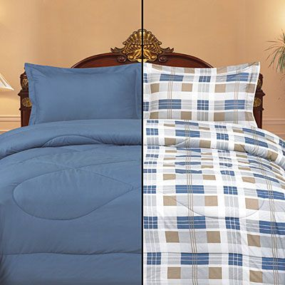 Your Choice! Full/Queen or King Size Microfiber Comforter Sets at