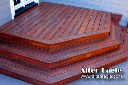 Image Detail For  Deck Stairs How We Build Stairs   Alter Eagle Deck