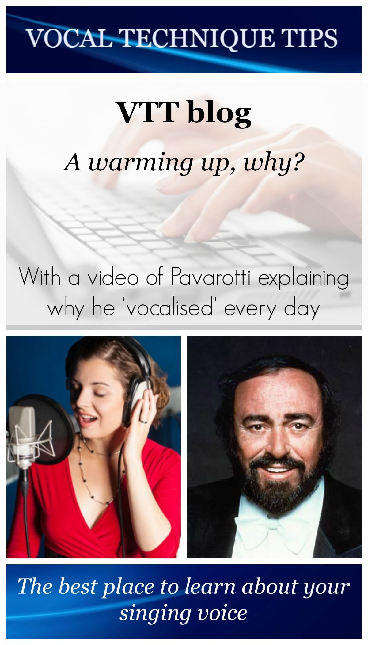 PinVTTBlogA warming up why Singing lessons, Singing