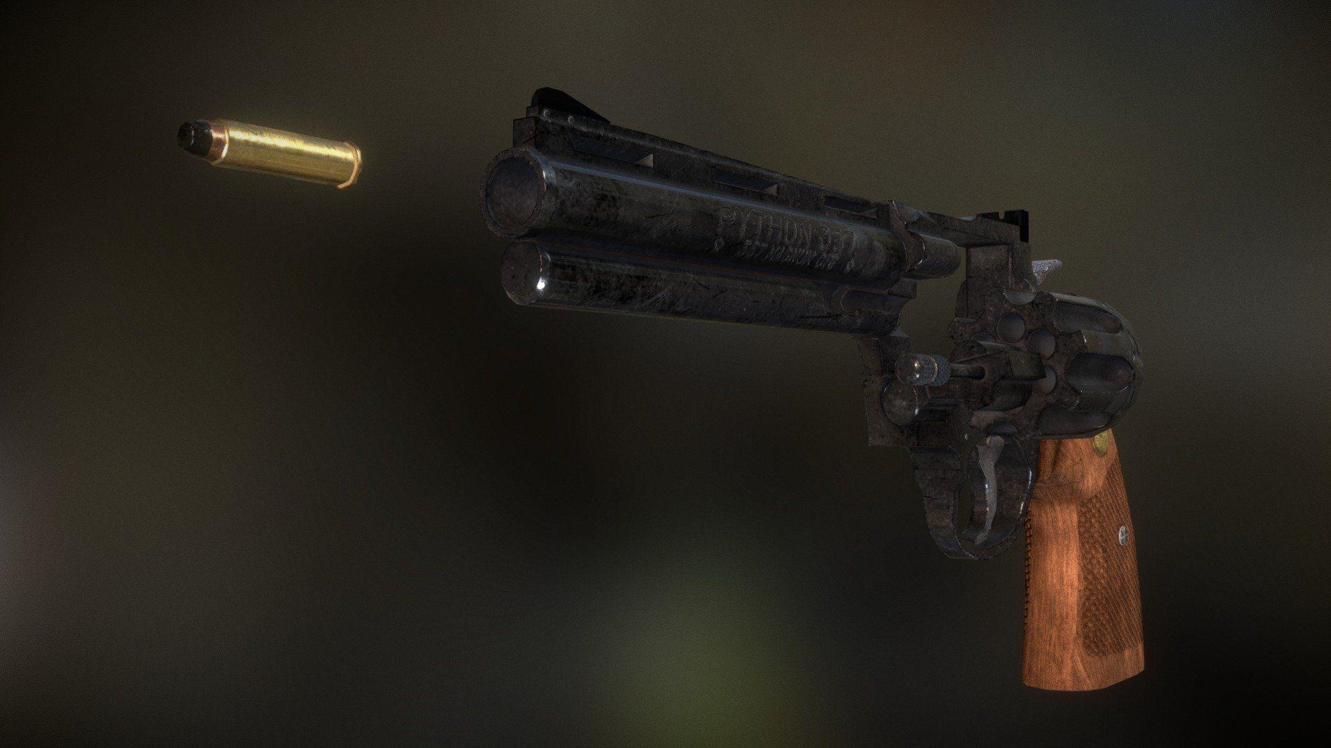 Magnum Colt Python 357 by paburoviii