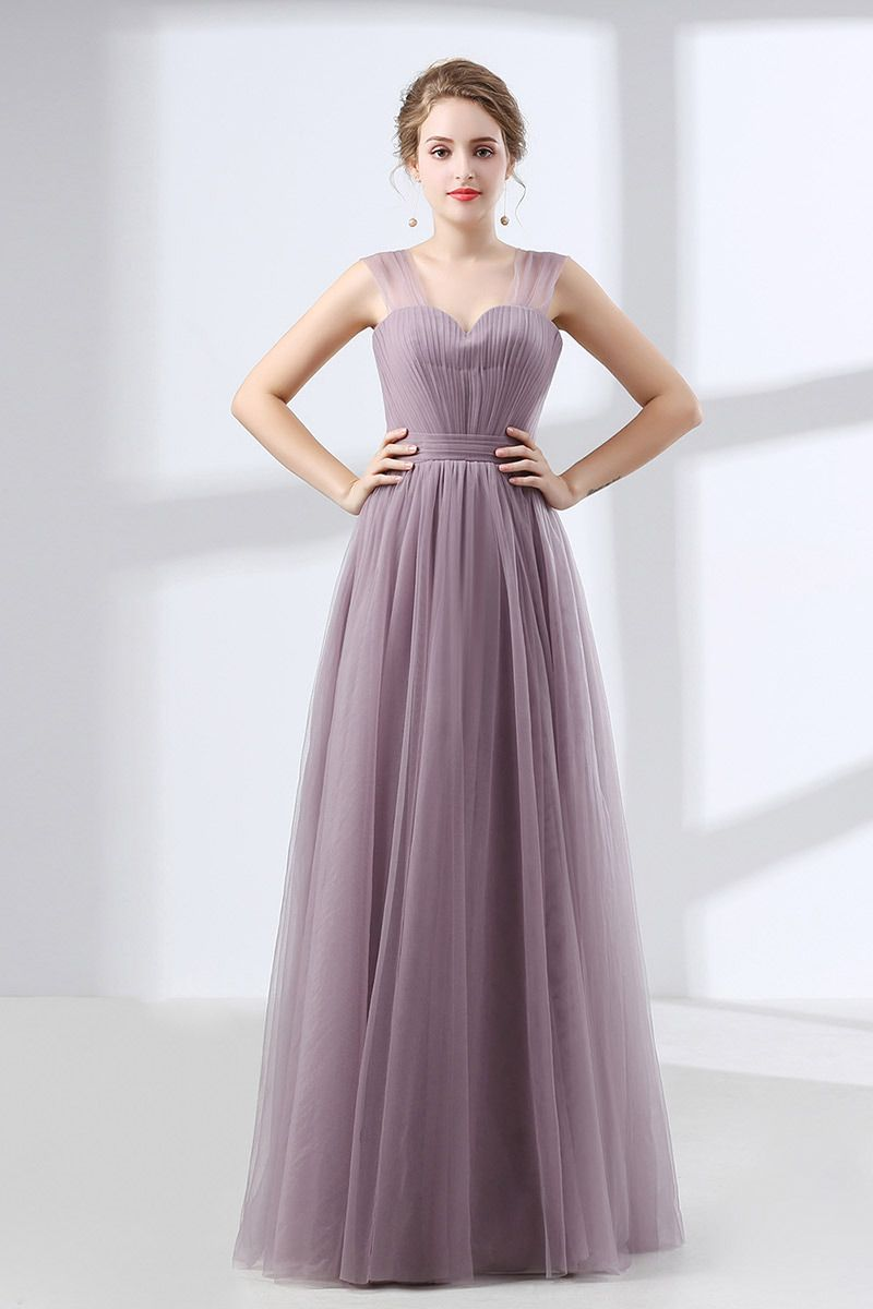 Homecoming Dresses Cheap Tulle Long