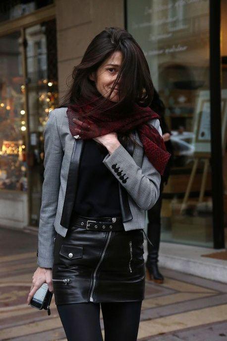 bb983beb1 Pinterest : 25 façons de porter la mini-jupe cet hiver | Street ...