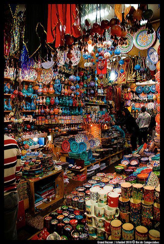 Estambul, este es el Gran Bazar