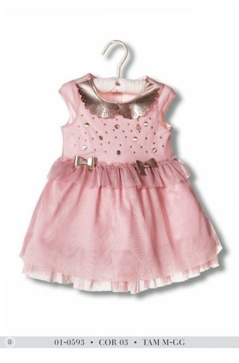f52acb6ef VESTIDO Diforini Moda Infato Juvenil 010593 | Look meninas | Moda ...