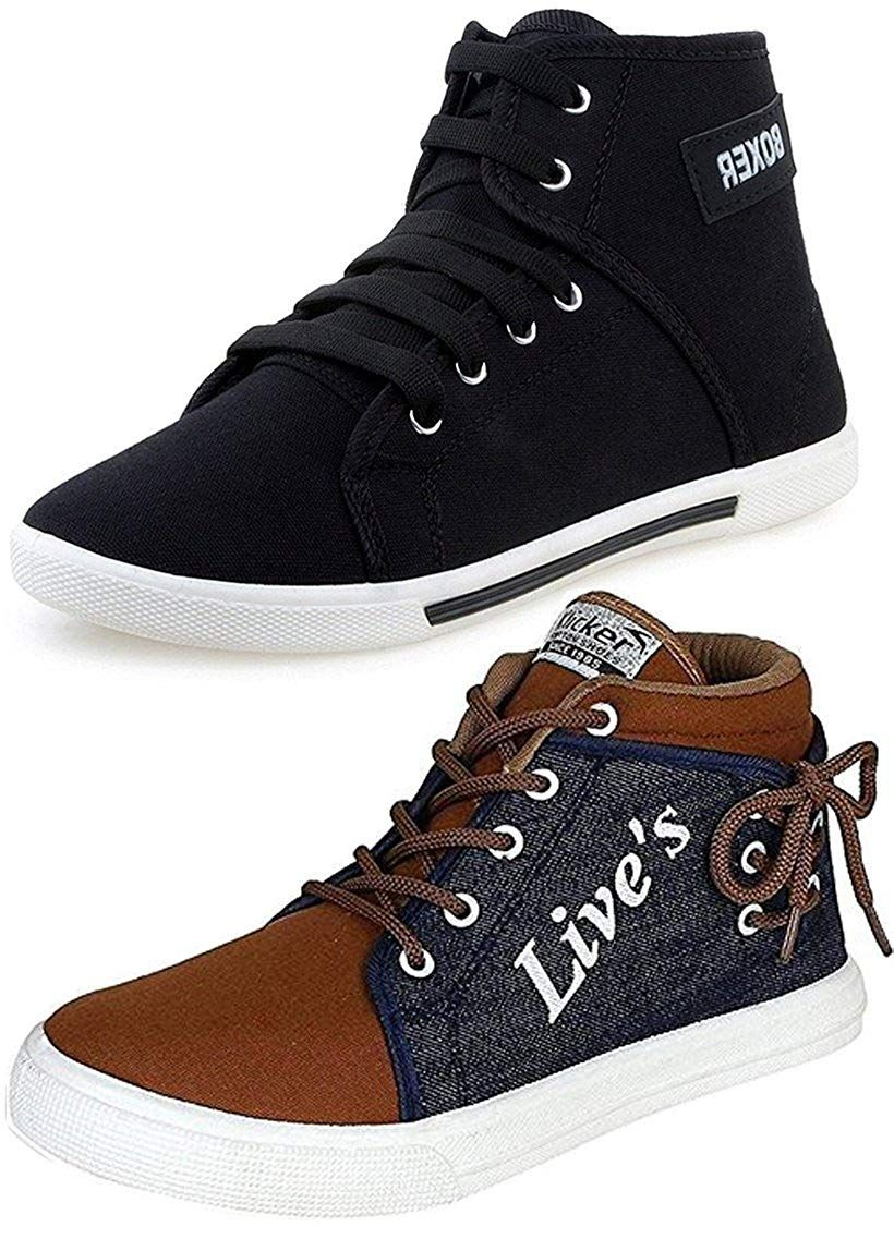 Leather Casual Sneakers Shoes