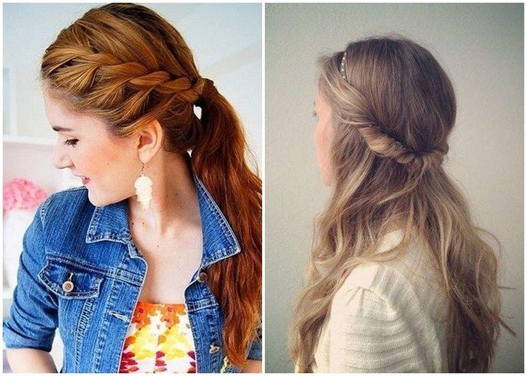 Lässige Frisuren Für Schulterlange Haare Einfache Frisuren