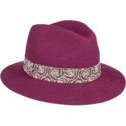 Photo of Lierys Melady Fedora with flower ribbon Women's Fedora wool hat Wool felt hat Women's hat LierysLierys