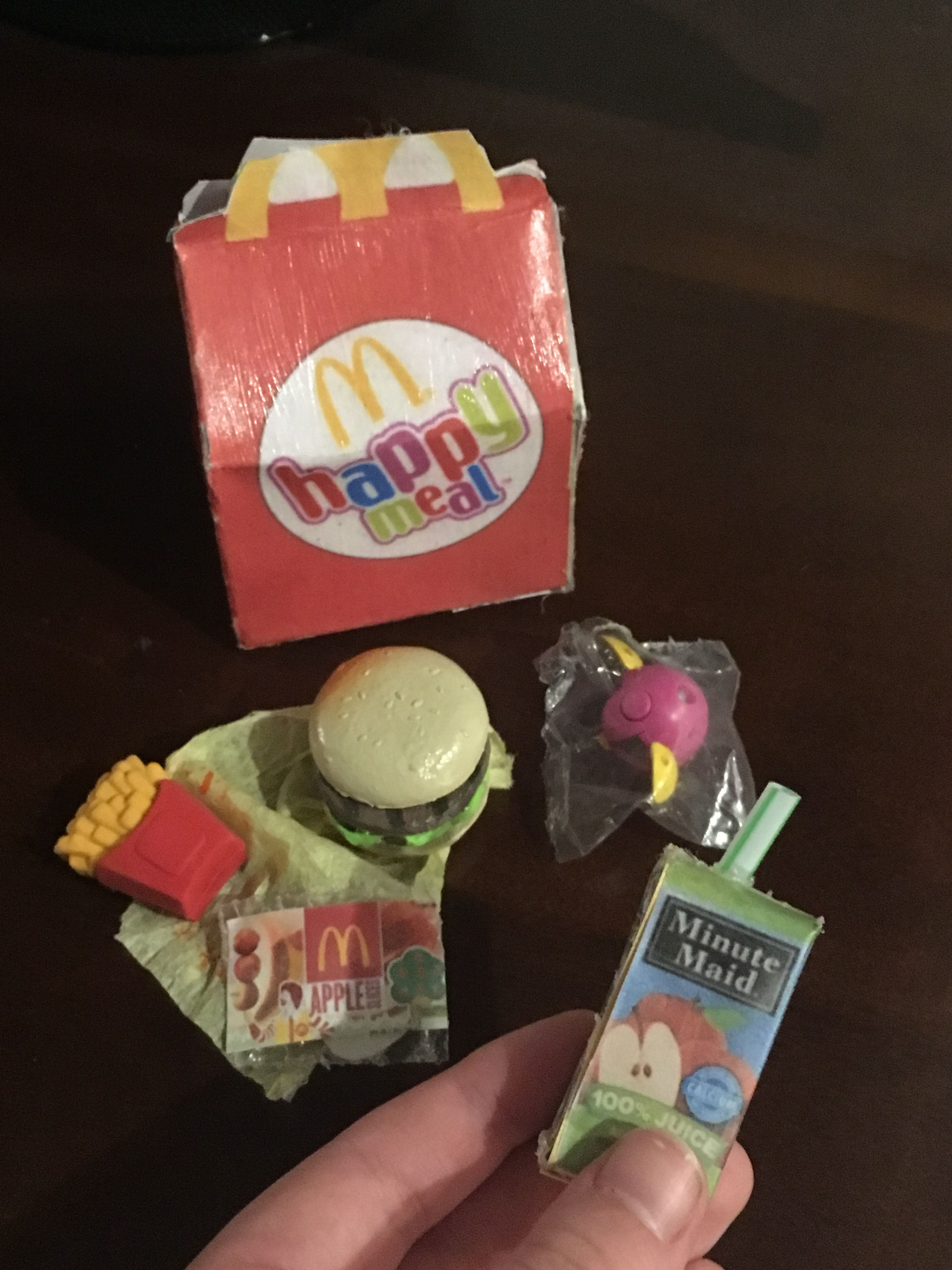 Mini McDonald's All printables from americangirlideas