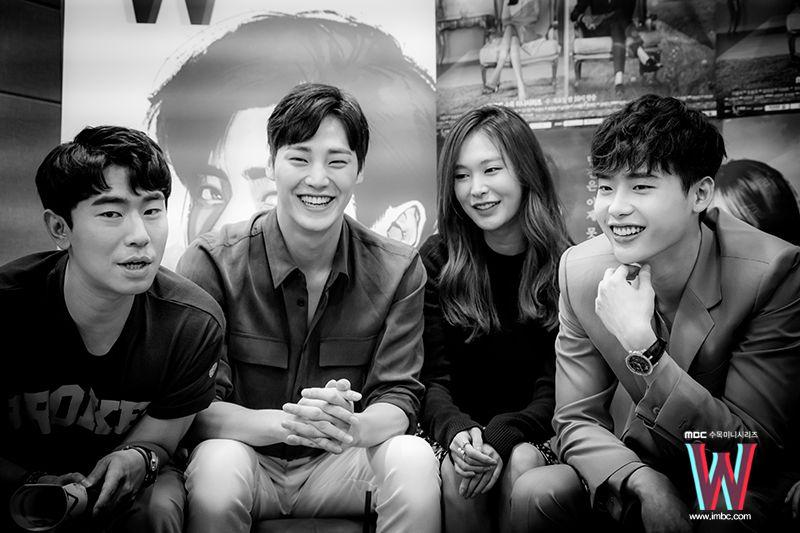 Lee Jong Suk - W Two Worlds Live on V App 2016.07.18