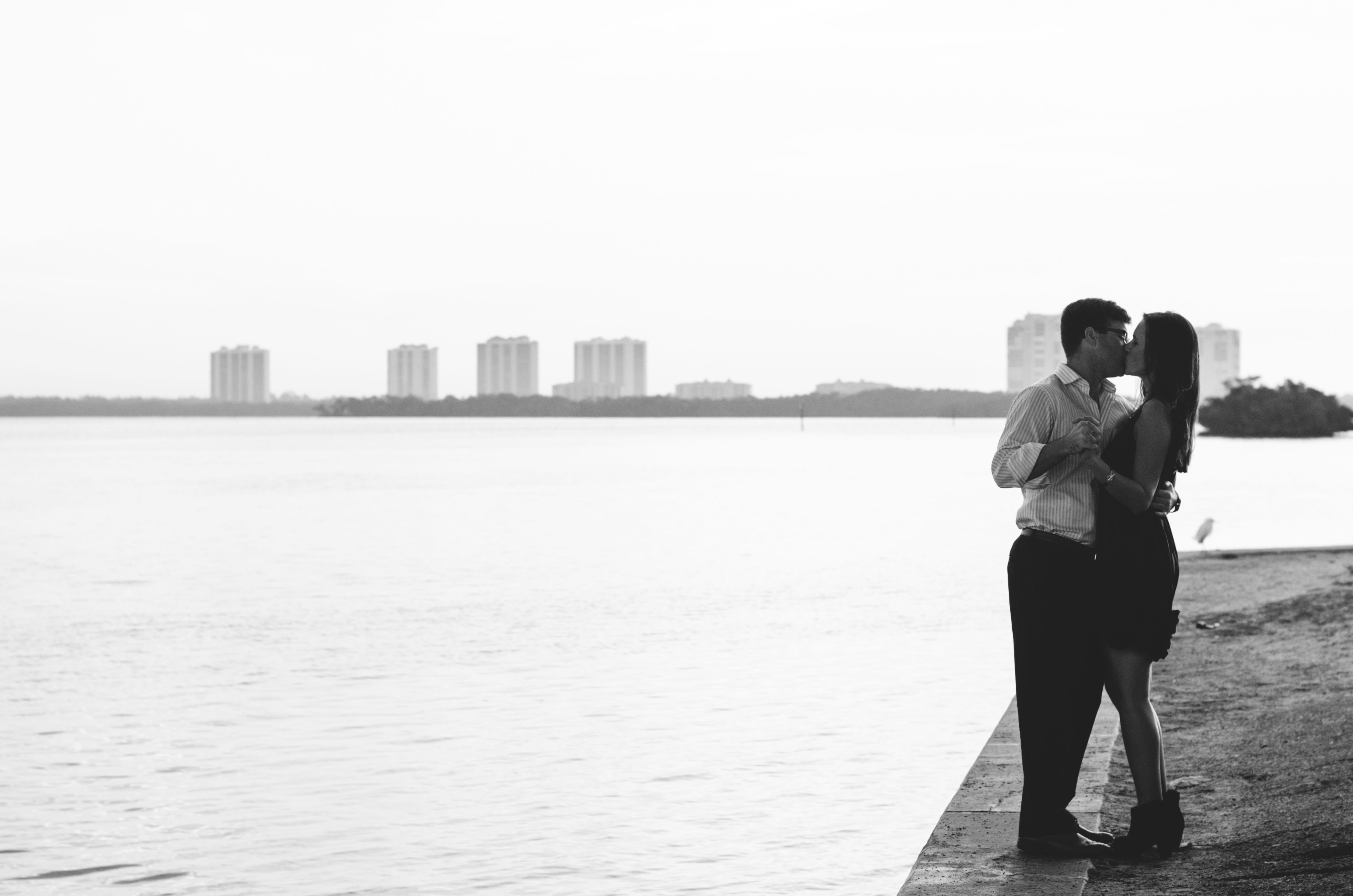 Proposal and Engagement photo shoot in one!  #engagement #romantic #blackandwhite #proposal #couple #coupledancing #vsco