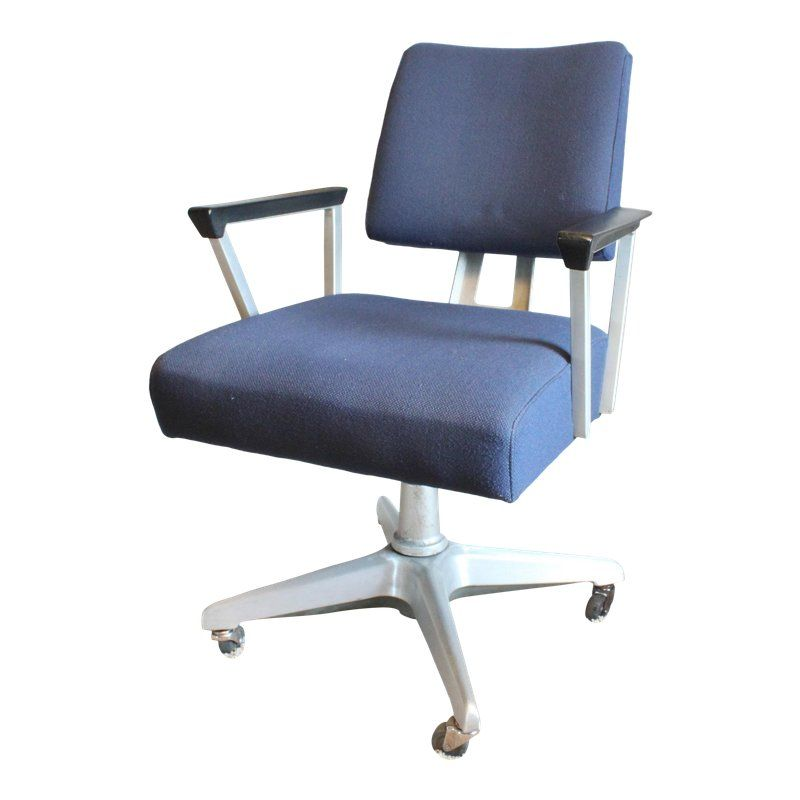 General Fireproofing Industrial Goodform Aluminum Office Chair