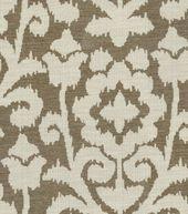 Upholstery Fabric-Pkaufmann Kamala Kilim   Fog