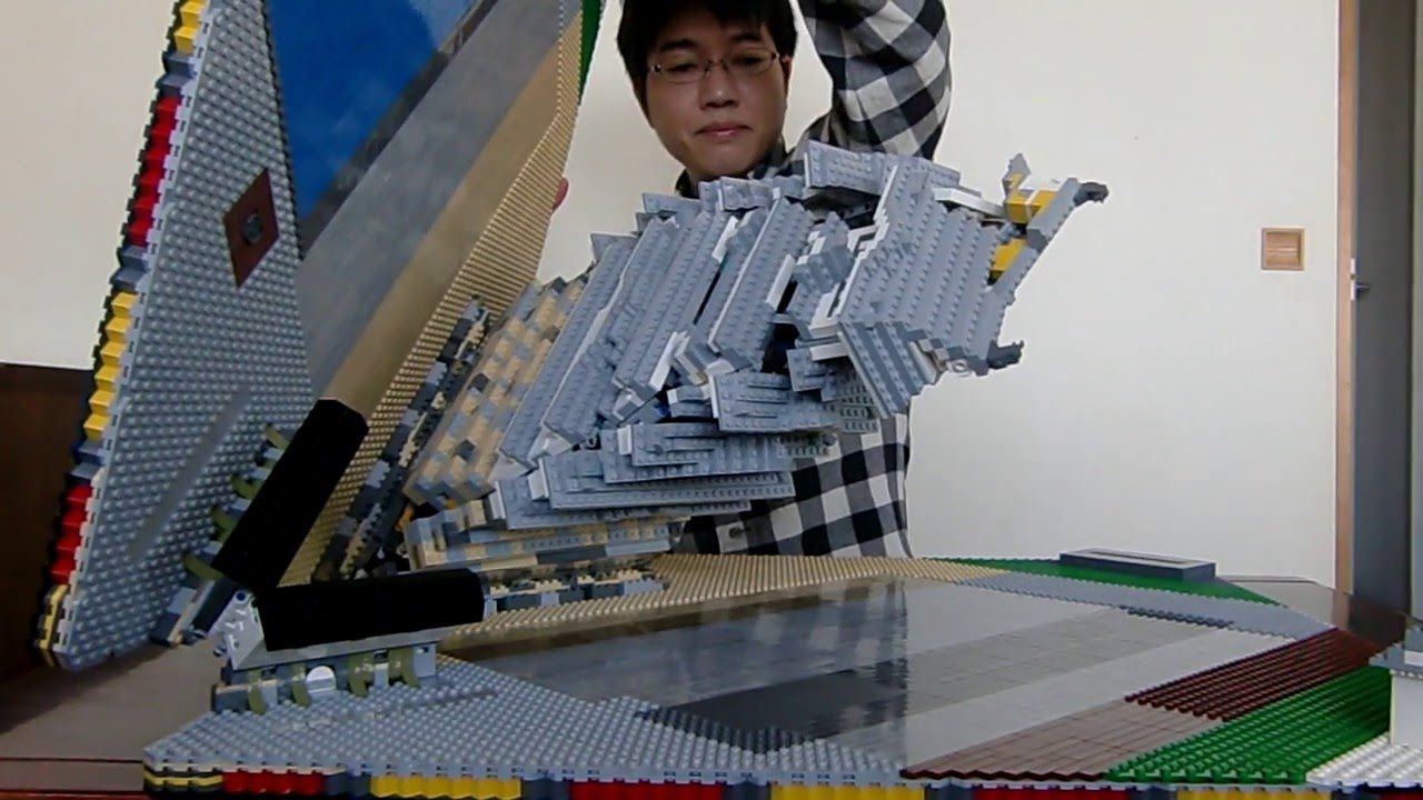 Lego Pop Up Himeji Castle Dai Tenshu レゴで飛び出る姫路城 大天守