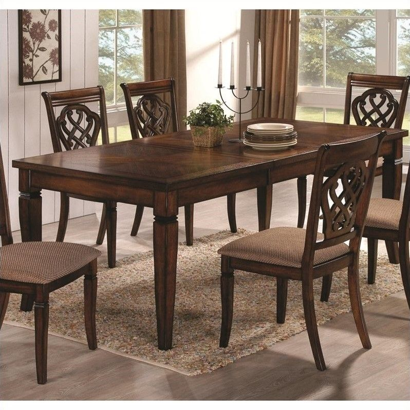 Lowest Price Online On All Coaster Rectangular Dining Table Leaf