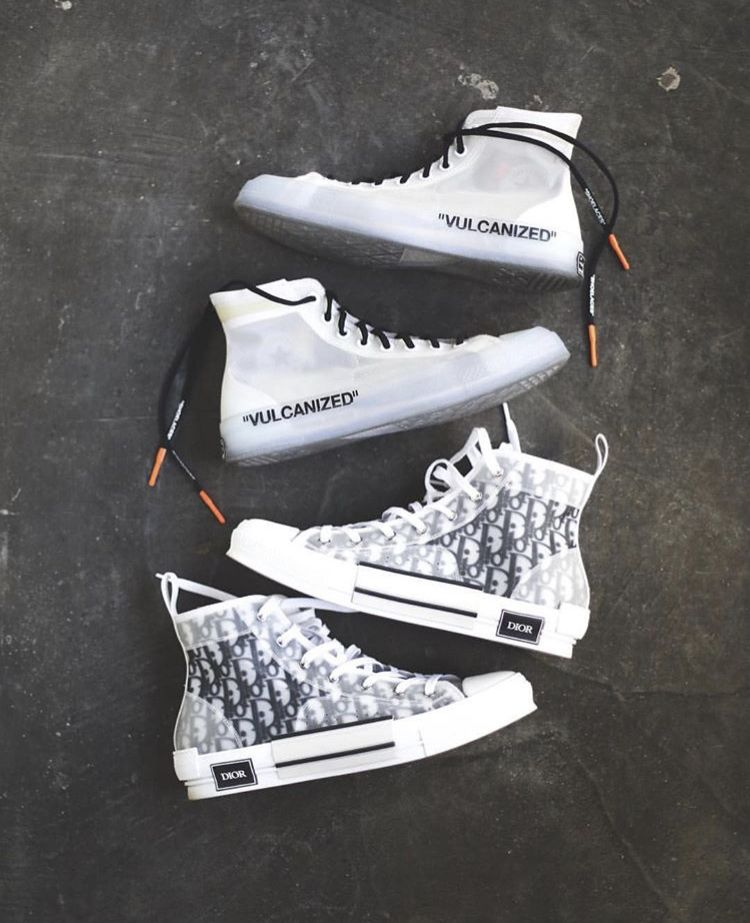 Dior and off white converse | Hype Sneakers in 2019 Kleren