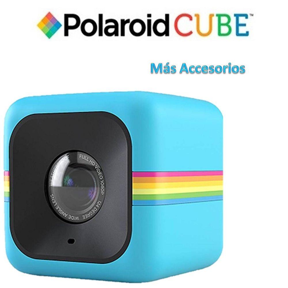 Cámara de Acción Polaroid Cube más Accesorios | Pinterest | Polaroid ...