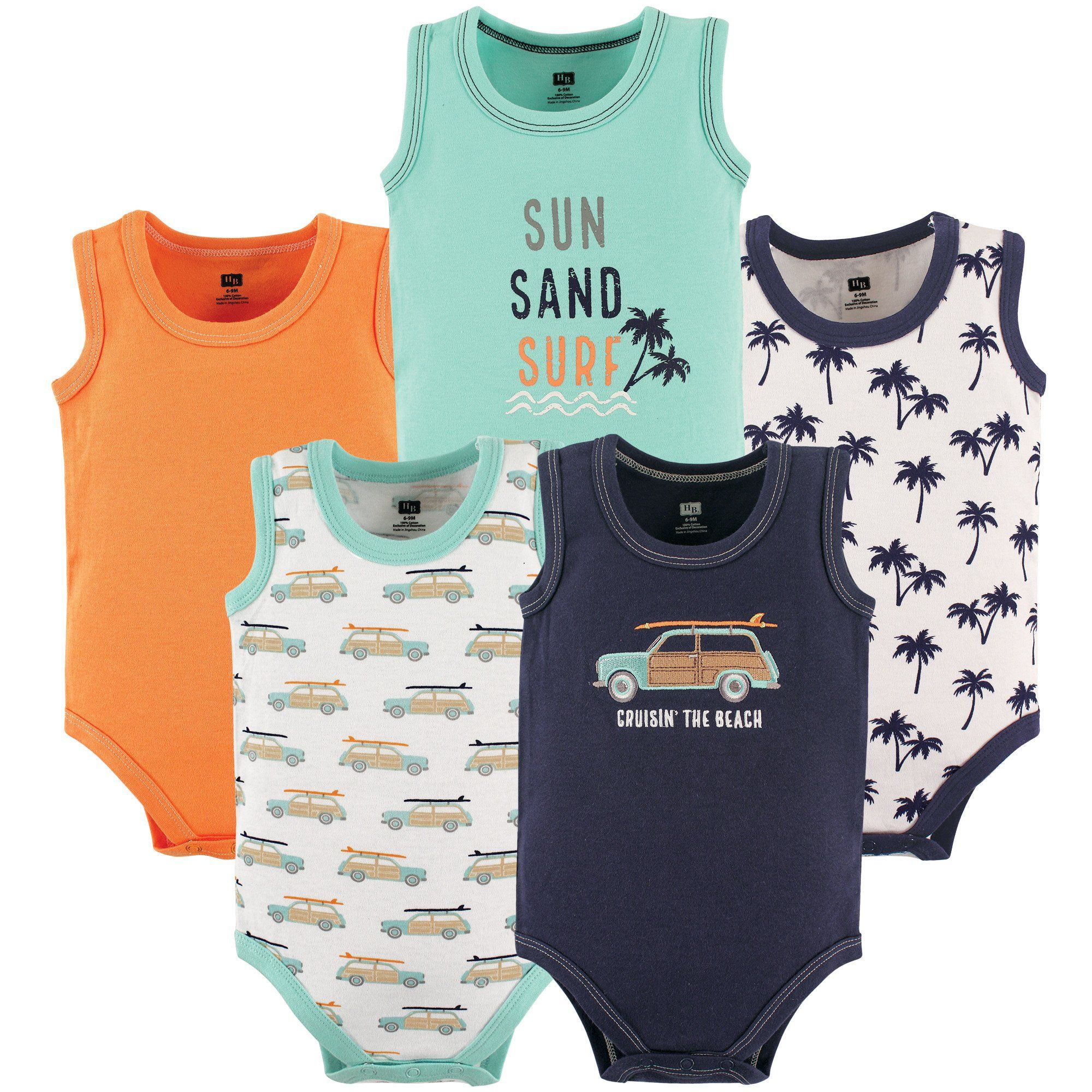 A Cute Baby Unisex Baby Sleeveless Bodysuit