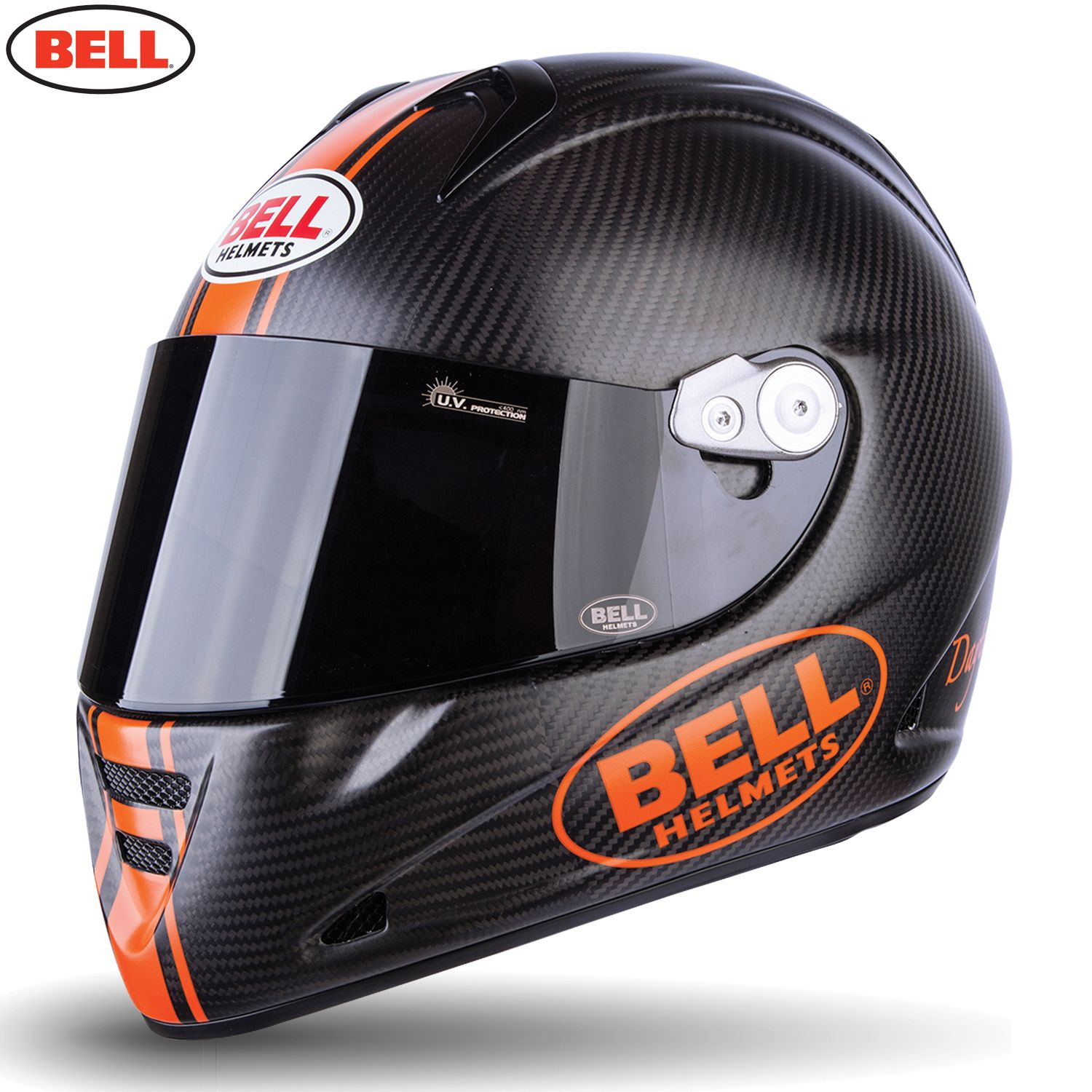 8ff8b517 Bell M5x Daytona Motorcycle Helmet - Black Orange - Bell M5x Motorcycle  Helmet…
