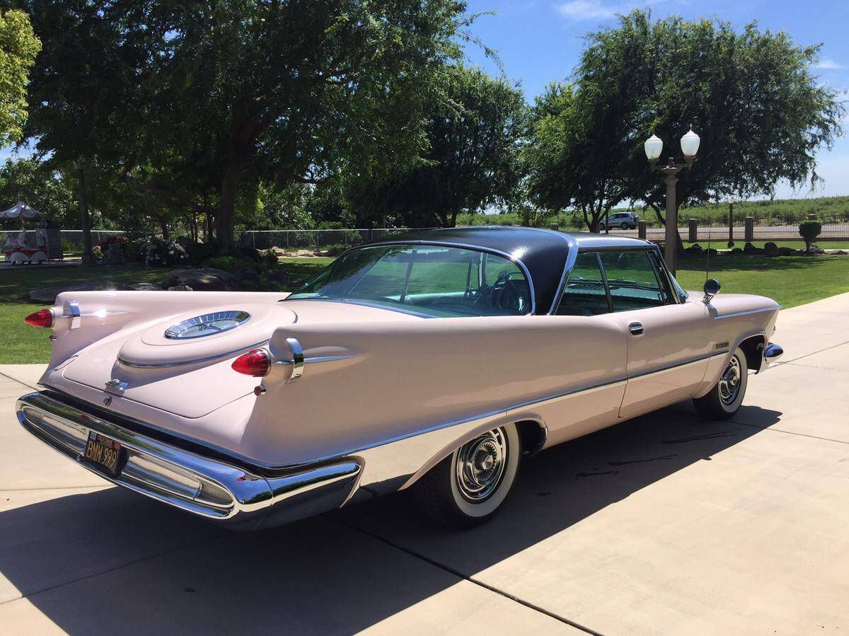 1959 Imperial Crown Coupe Chrysler Voyager Cars Usa
