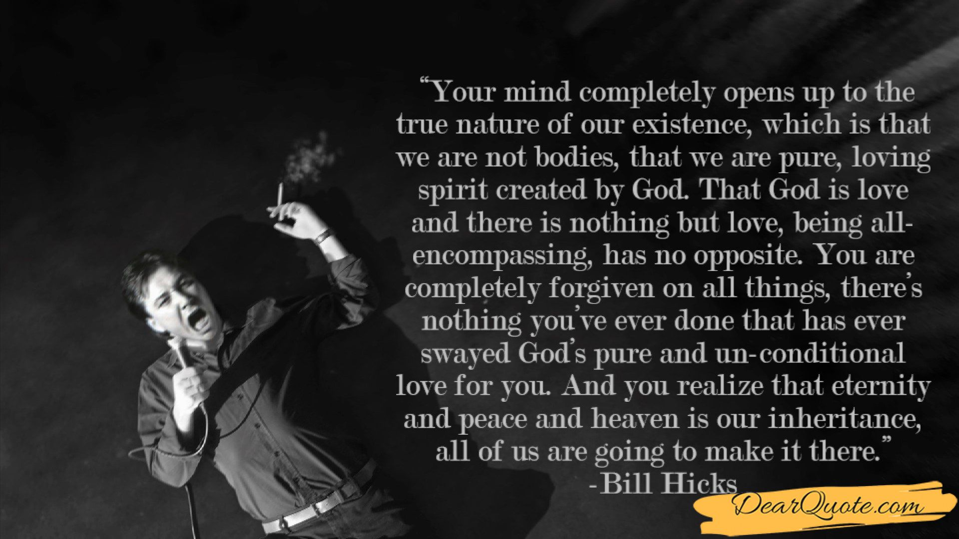 """""""your Mind Completely Opens Up to the True Nature of Our"""