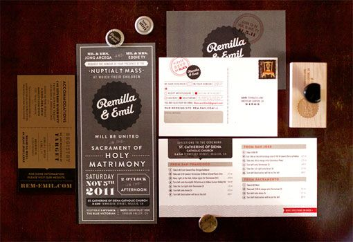Remilla and Emil Wedding Paper Goods
