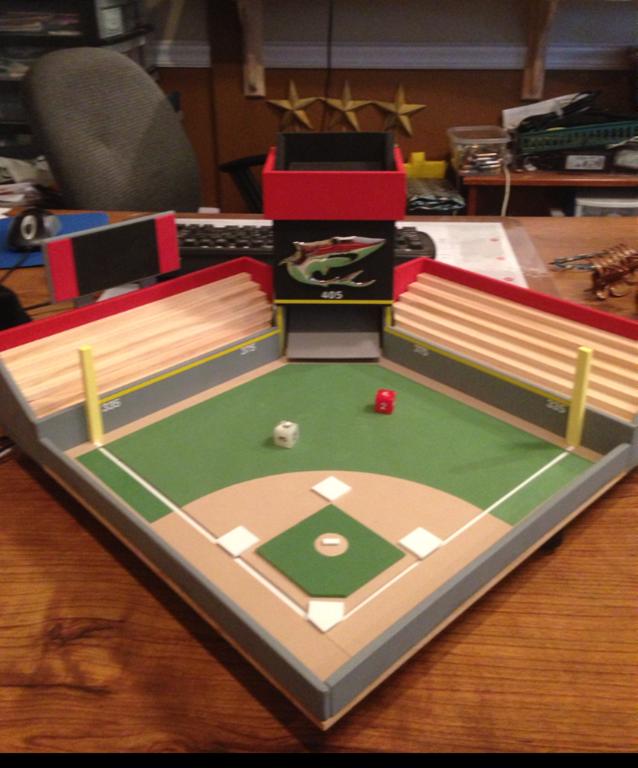 Another Adams Custom Park Baseball Project Baseball Stadium Baseball Crafts