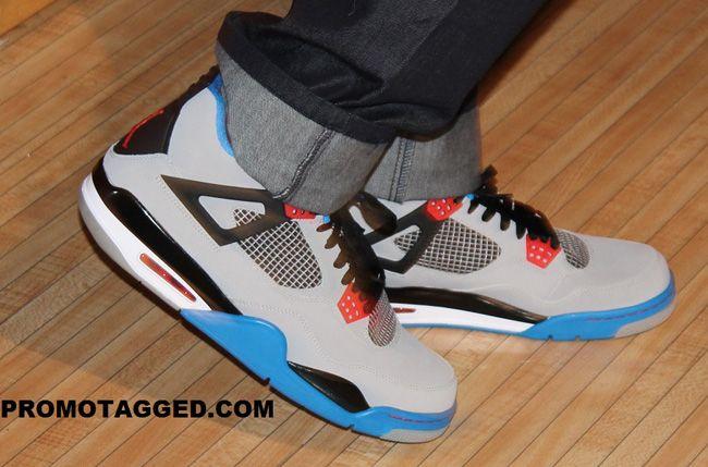 Chris Paul Bowling in the Air Jordan 4