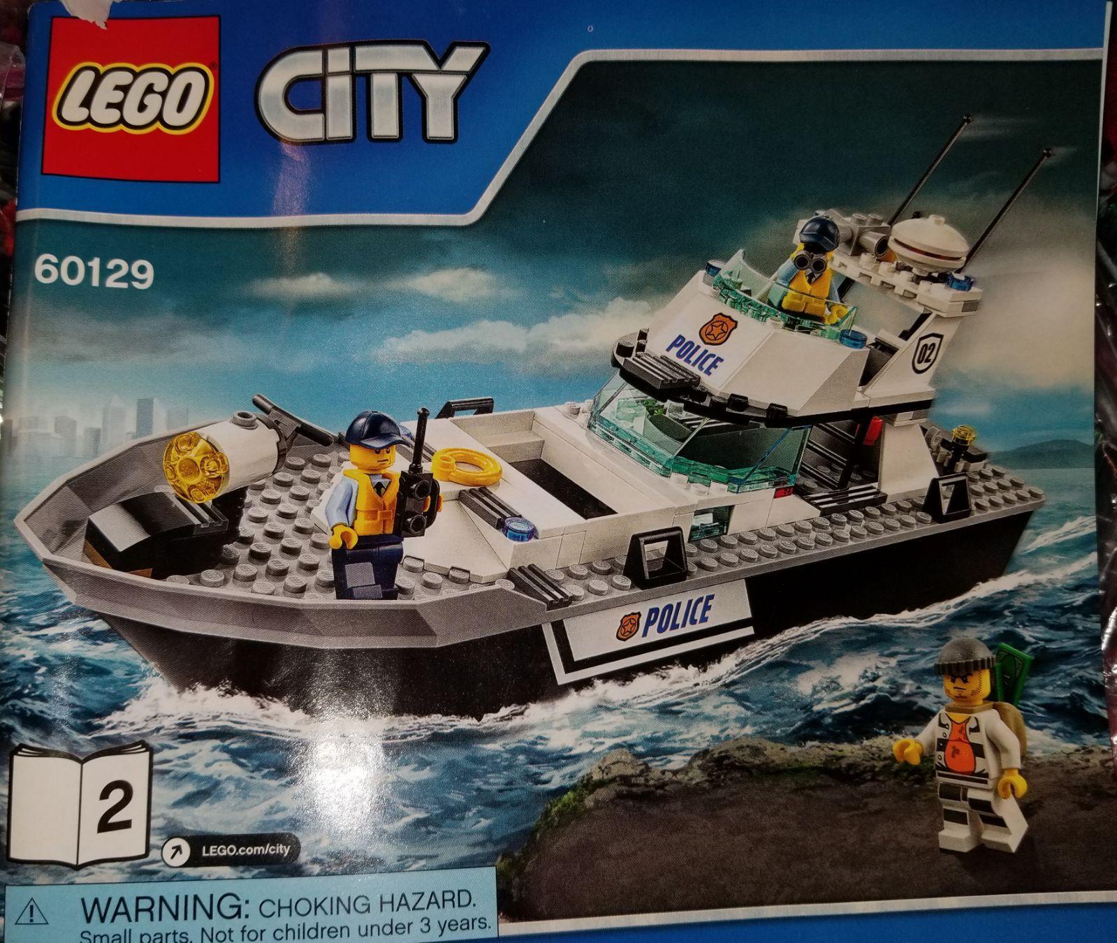 Lego City Police 60129 Police Patrol Boat Lego City Police Patrol Lego City Police