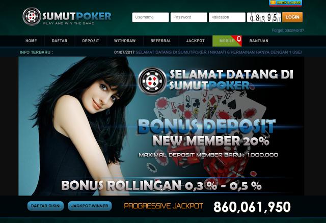 Pin di SumutPoker Agen Poker Online dan Domino QQ Terpercaya