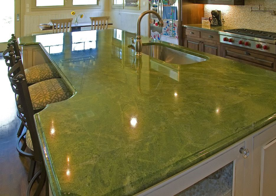 Image Result For Onyx Granite Countertop Kitchen Green Granite