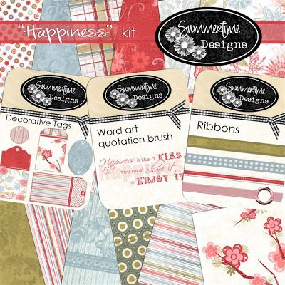 Summertime Designs: Happiness kit