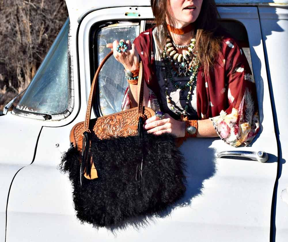 Stop by Western Skies Handmade for some one-of-a-kind handmade purses and accessories!