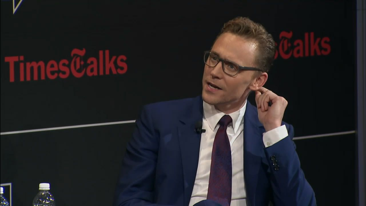Tom Hiddleston. #TimesTalks Via Torrilla.