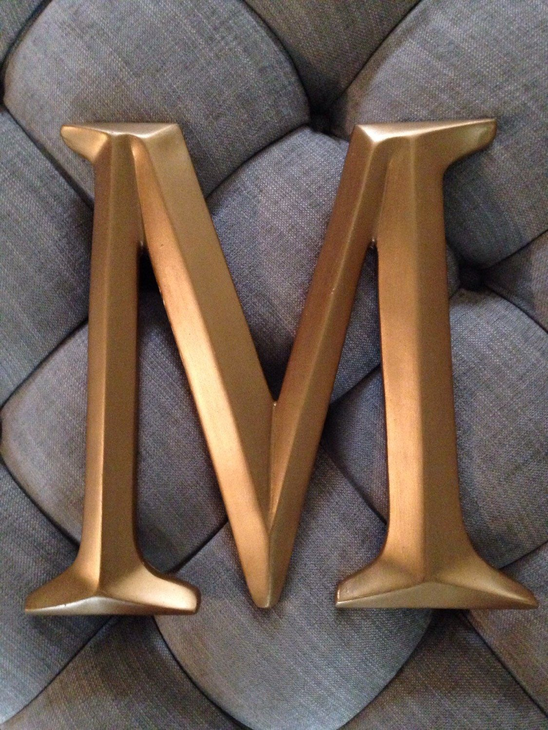 Gold Letters For Wall Large Wall Letter Photo Wall Letter Large Letter M Gold Letters