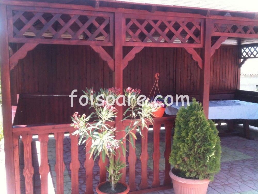 Foisoare De Gradina Modele Dreptunghiulare Craiova Pergola Outdoor Structures Outdoor