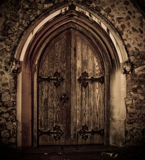 gothic door & gothic door | Knock Knock | Pinterest | Doors Gothic and Old doors Pezcame.Com