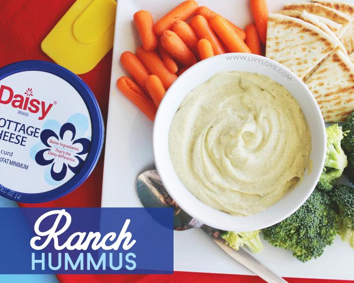 Livy Love: Ranch Hummus Recipe