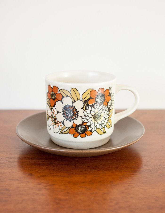 Vintage Johnson of Australia floral cup and saucer in 2019 ...