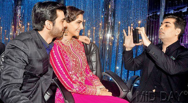 Sonam Kapoor and Fawad Khan on 'Jhalak...'
