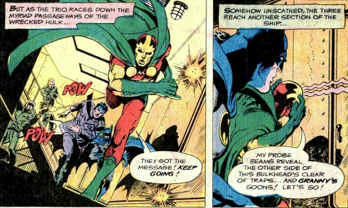 New Gods Mister Miracle and Batman