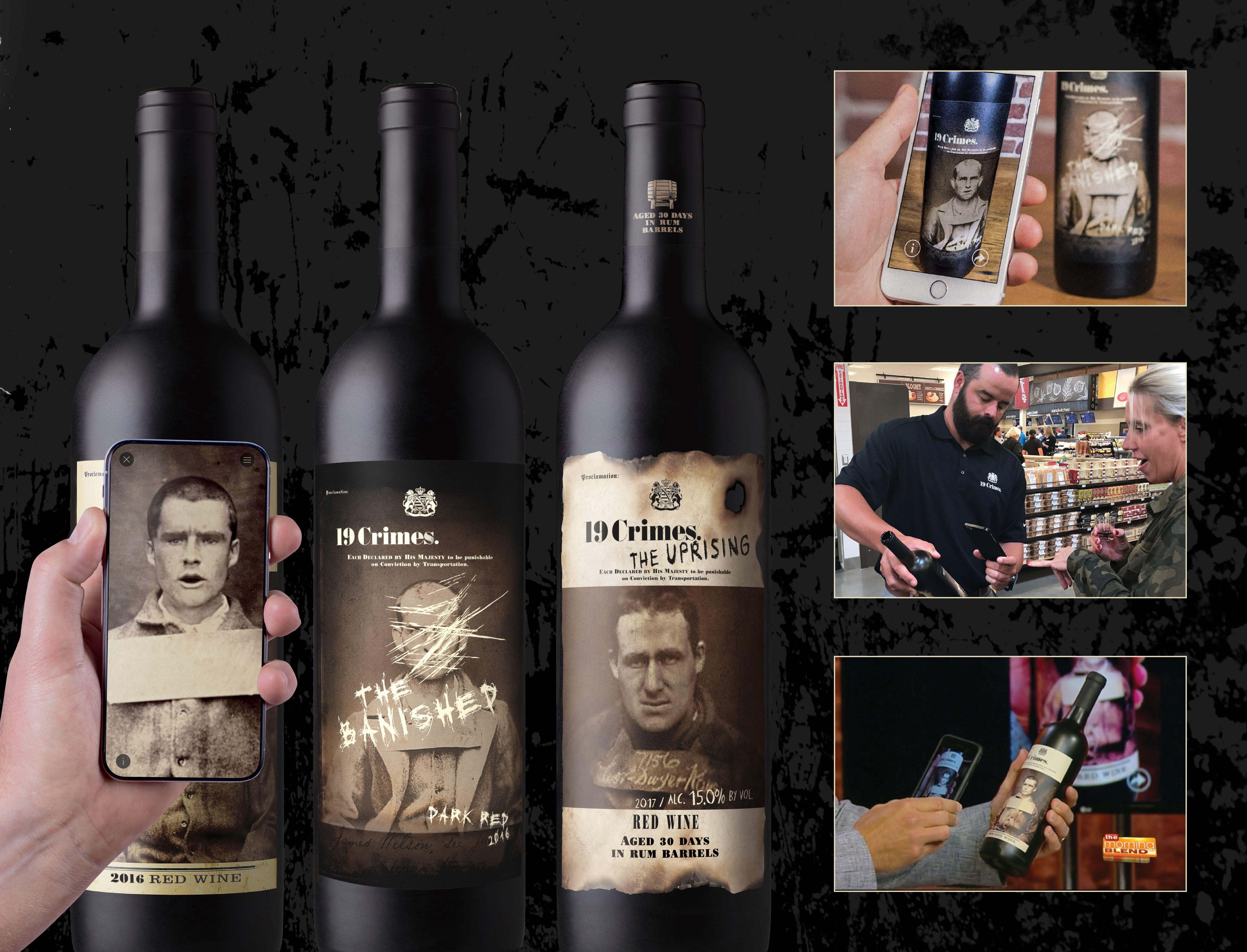 19 Crimes Wine 19 Crimes Confessing Labels 19 crimes
