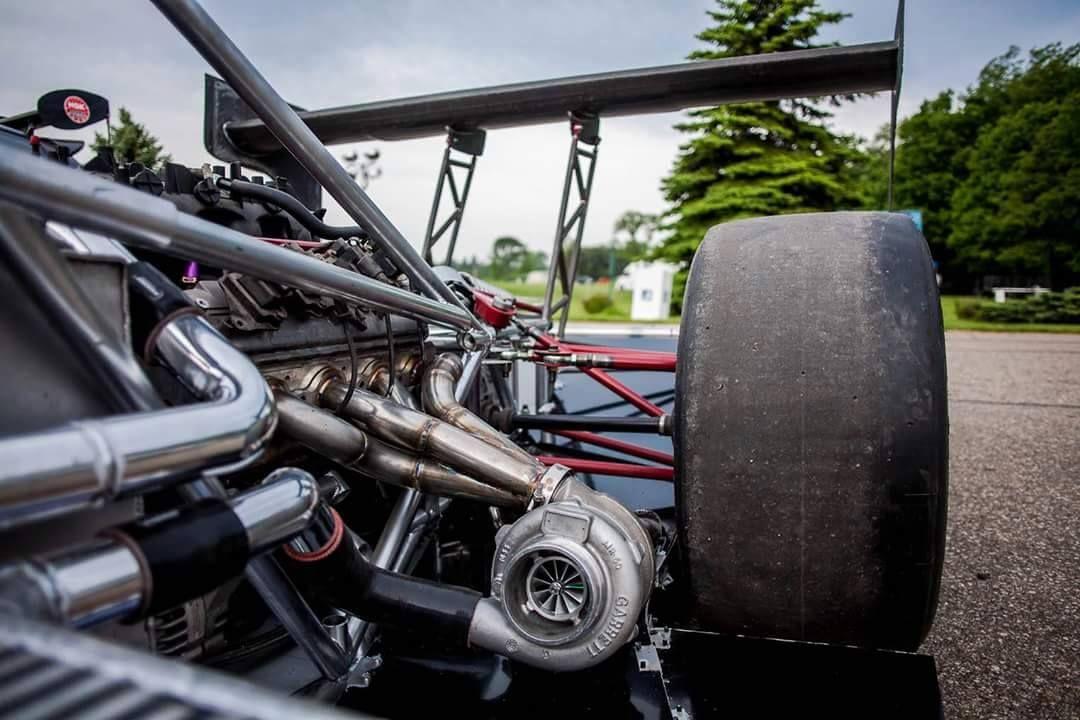 twin turbo v8 powered custom race car built by LoveFab Inc ...