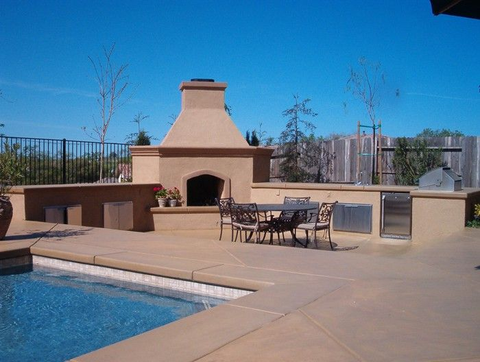 This Pool Deck Was Colored With Davis Colors Sequoia Sand