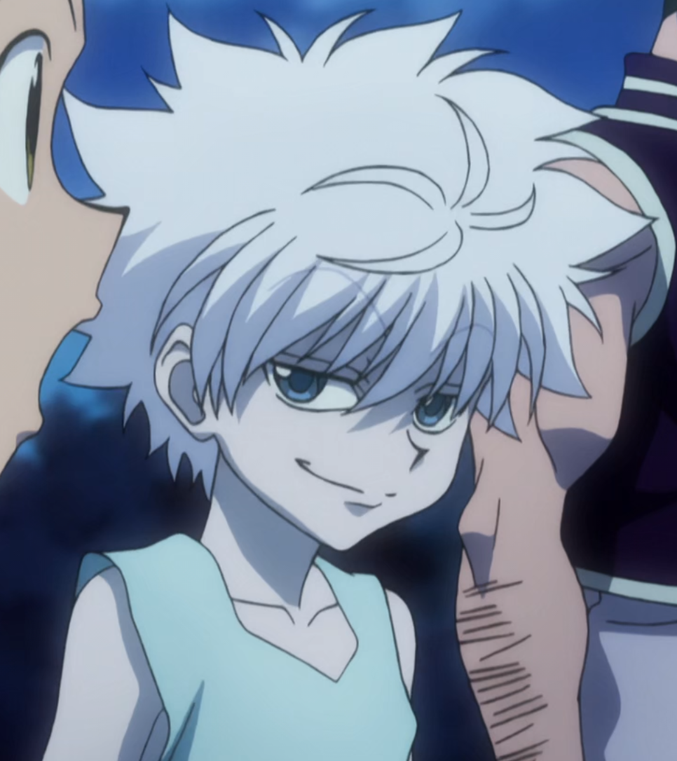 My favourite face from Hunter x Hunter