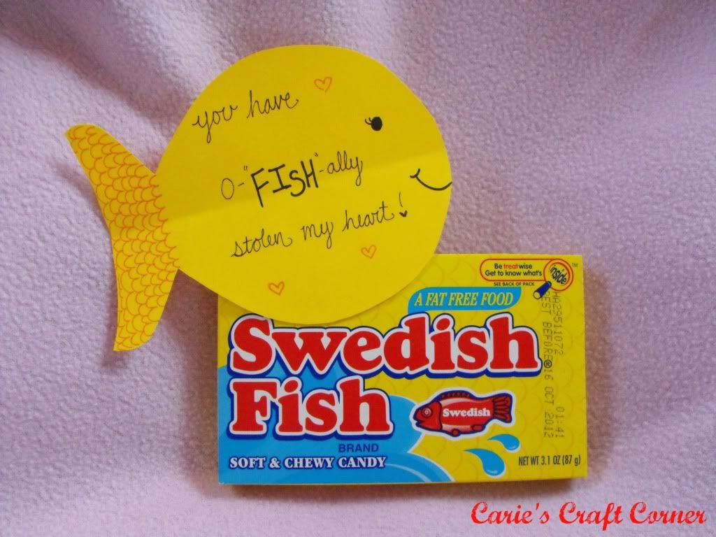 My Boyfriends Valentineu0027s Day Present. Heu0027s Loves Swedish Fish!