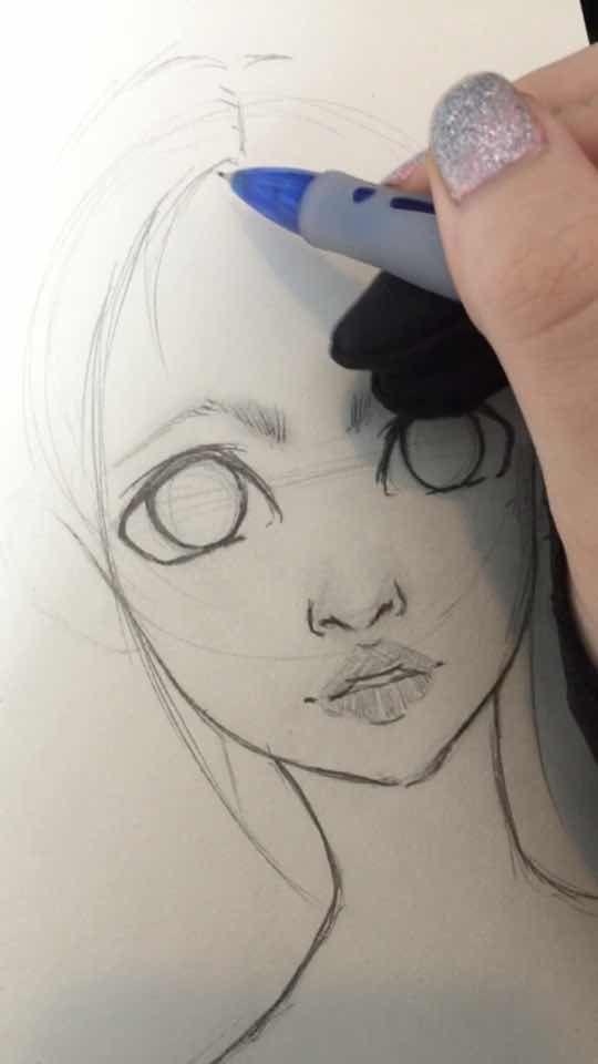 Pin De Soleil Parkinson Em Drawing Desenhos Aleatorios Ideias